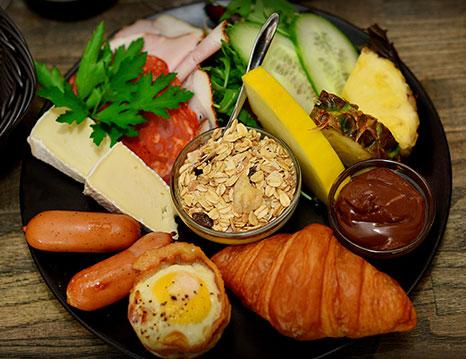 Frühstück und Brunch im Café LAVA